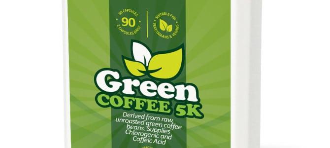 Green Coffee 5 K – tabletki z zieloną kawą: skład, opinie, cena
