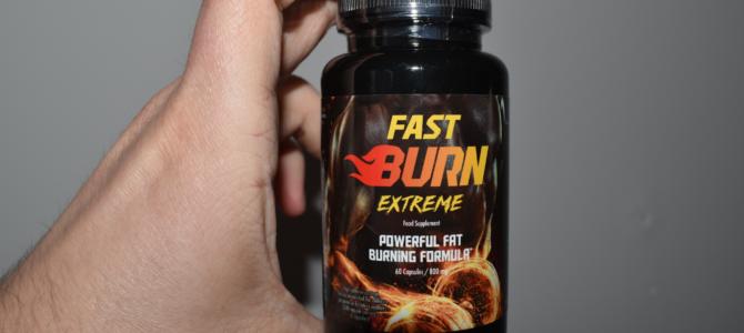 Fast Burn Extreme – opinie o spalaczu tłuszczu